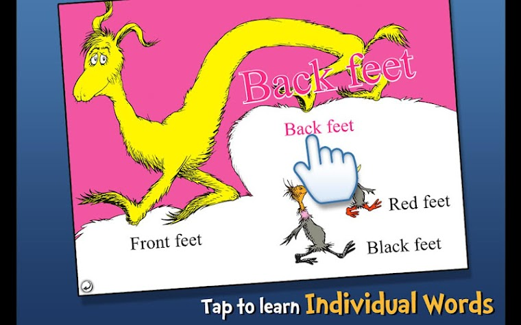 The FOOT Book - Dr. Seuss Screenshot