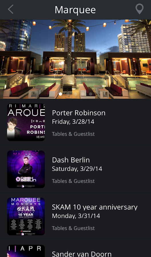 Discotech Nightlife App- screenshot