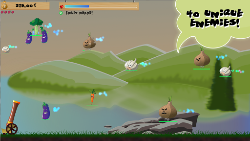 Invasion of the Veggies Spēles (APK) bezmaksas lejupielādēt Android/PC/Windows screenshot