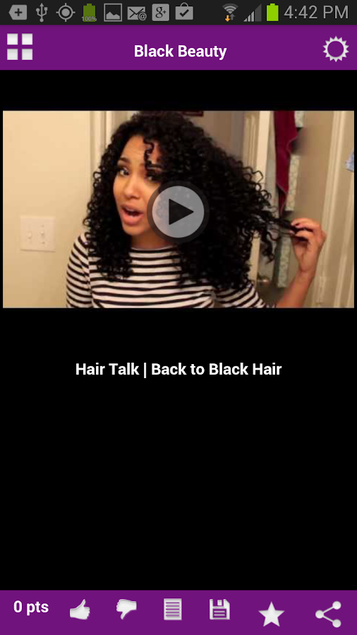Black Beauty, Black Women Hair- screenshot