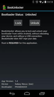 BootUnlocker for Nexus Devices - screenshot thumbnail