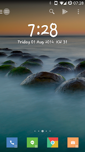 Minimalistic Text: Widgets Screenshot