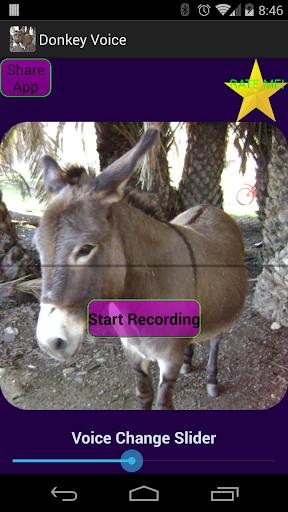 Talking Donkey Voice Changer