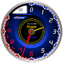 Car Tachometer Analog Clock icon