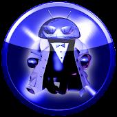 Poweramp skin BLUE