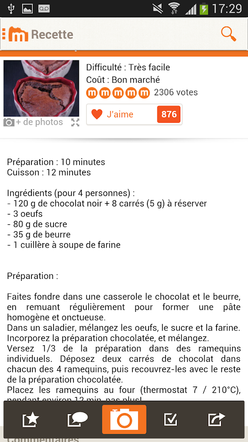 Marmiton recettes de cuisine android apps on google play for Simulation installation cuisine