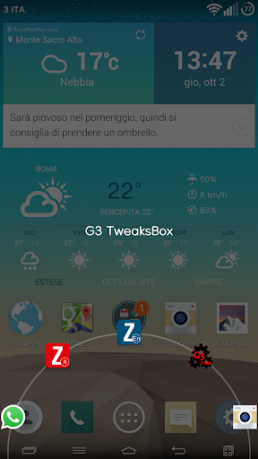 G3 TweaksBox 1.3.7 screenshots 2