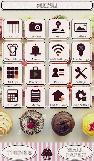 Cute Theme-Sweet Cupcakes- 1.0 Windows u7528 3