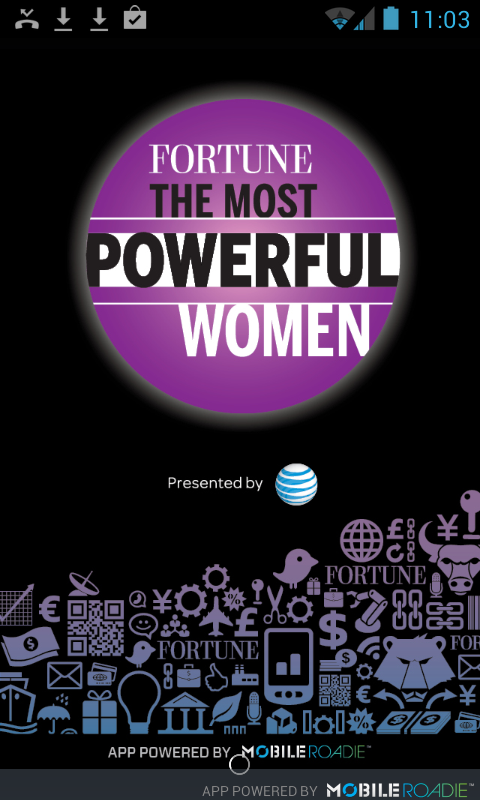 Fortune Most Powerful Women - screenshot