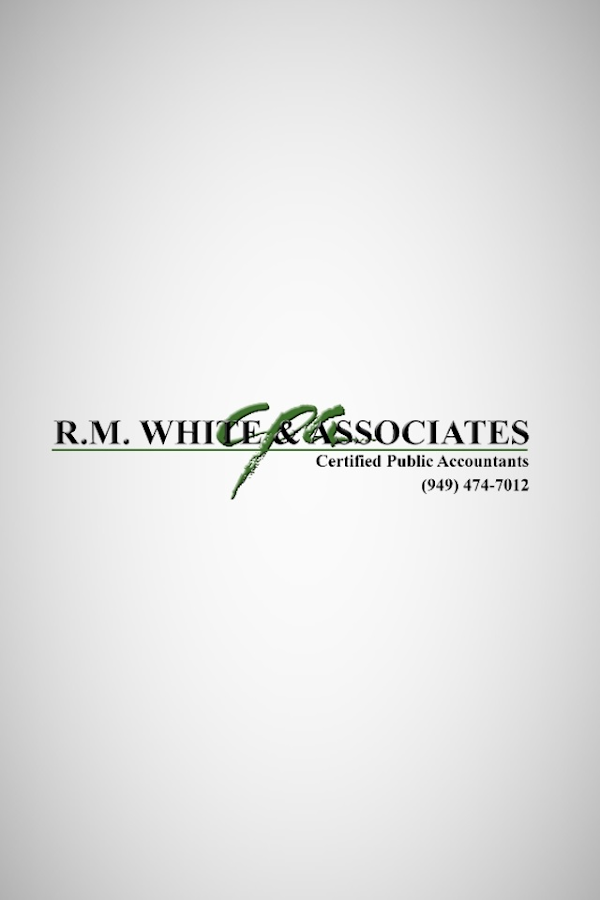 R.M. White & Associates- screenshot