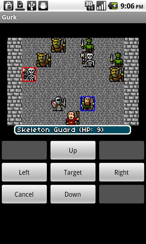 Gurk, the 8-bit RPG- screenshot