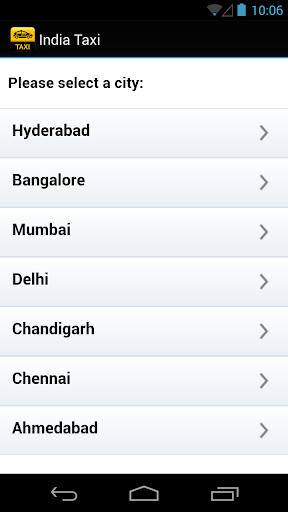 India Taxi Companies