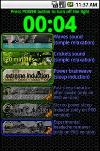 Sleep Inductor Brainwave relax - screenshot thumbnail