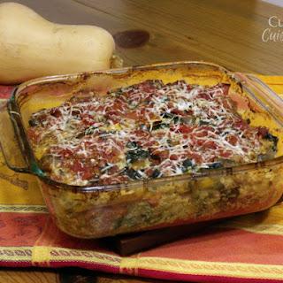 Noodleless Butternut Squash Lasagna
