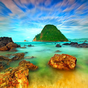 Marbel Beach by Agoes Antara - Landscapes Waterscapes