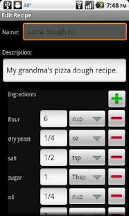 Shop with Recipes - screenshot thumbnail