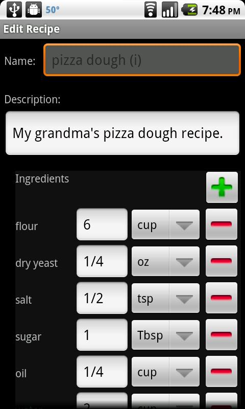 Shop with Recipes - screenshot