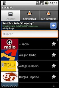 ESRadios - screenshot thumbnail