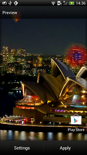 Fireworks Live Wallpaper 6.2 screenshots 2