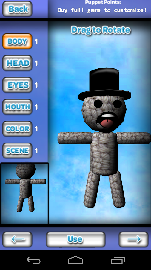 Puppet Jump 3D- screenshot