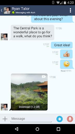 4talk Messenger 2.0.76 screenshots 6