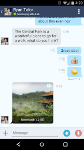 4talk Messenger- screenshot thumbnail