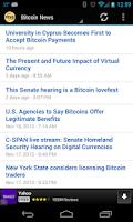 Screenshot of BTC News