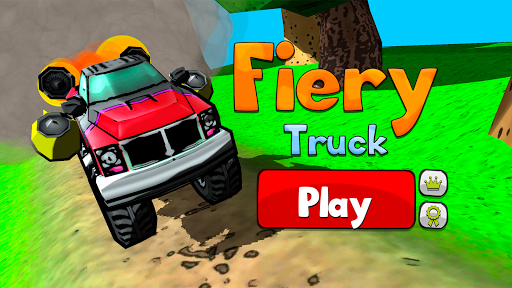 Fiery Truck