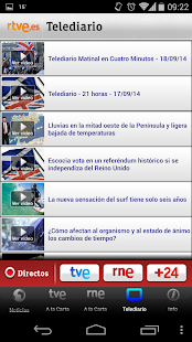[Download RTVE Móvil for PC] Screenshot 8
