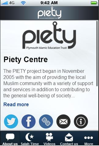PIETY Centre