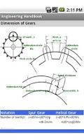 Screenshot of Engineering Handbook Lite