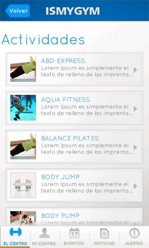 IsMyGym- screenshot