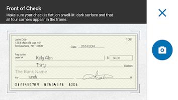 Screenshot of Amex Serve