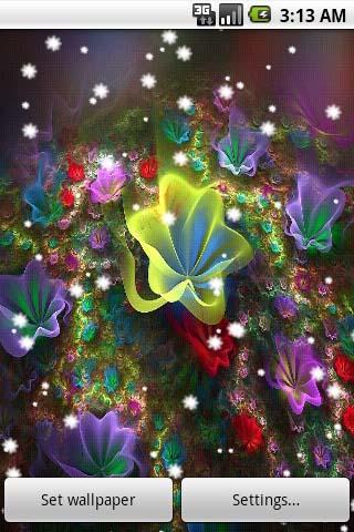 3D Flower Live Wallpapers