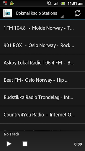 Bokmal Radio Stations