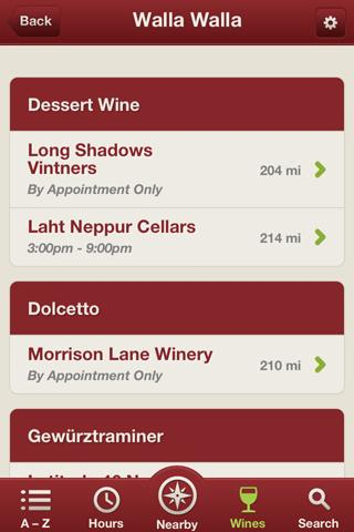 Wine Tour - screenshot