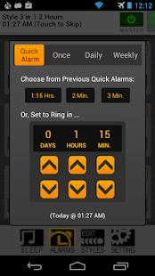 SureFire Alarm Clock - screenshot thumbnail