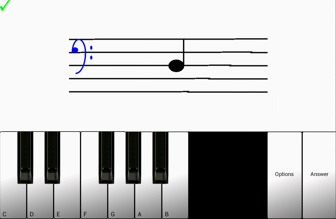 1 Learn sight read music notes - screenshot