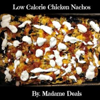 Low Calorie Chicken Nachos