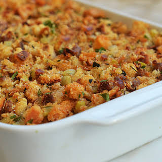 Easy Sausage & Herb Stuffing.