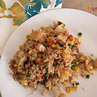 #tofu Fried Rice – #glutenfree