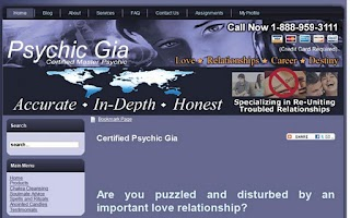 Screenshot of $10 Psychic Reading