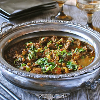 Beef and Lentil Curry.