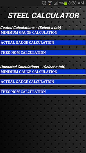 Steel Calculator