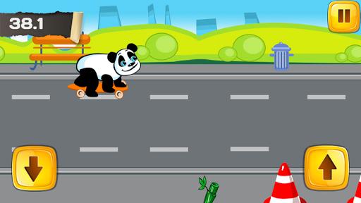 熊猫滑滑板