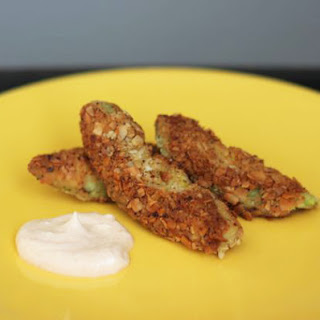 Crispy and Creamy Avocado Fries