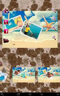 Summer Photo Frames Collage - náhled