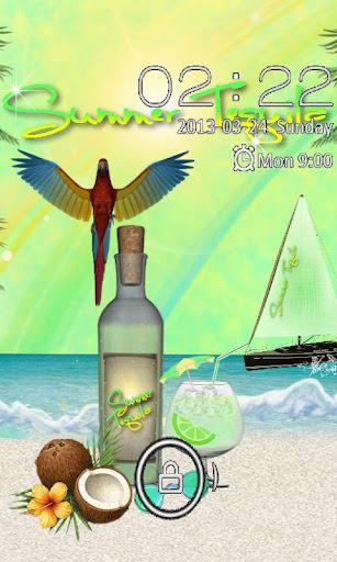 Summer Tequila GO LOCKER THEME