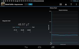 Screenshot of Metal Sniffer: Metal Detector