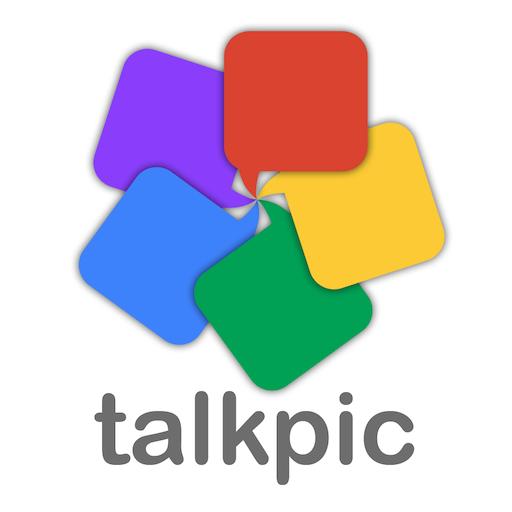 Talkpic 商業 LOGO-玩APPs